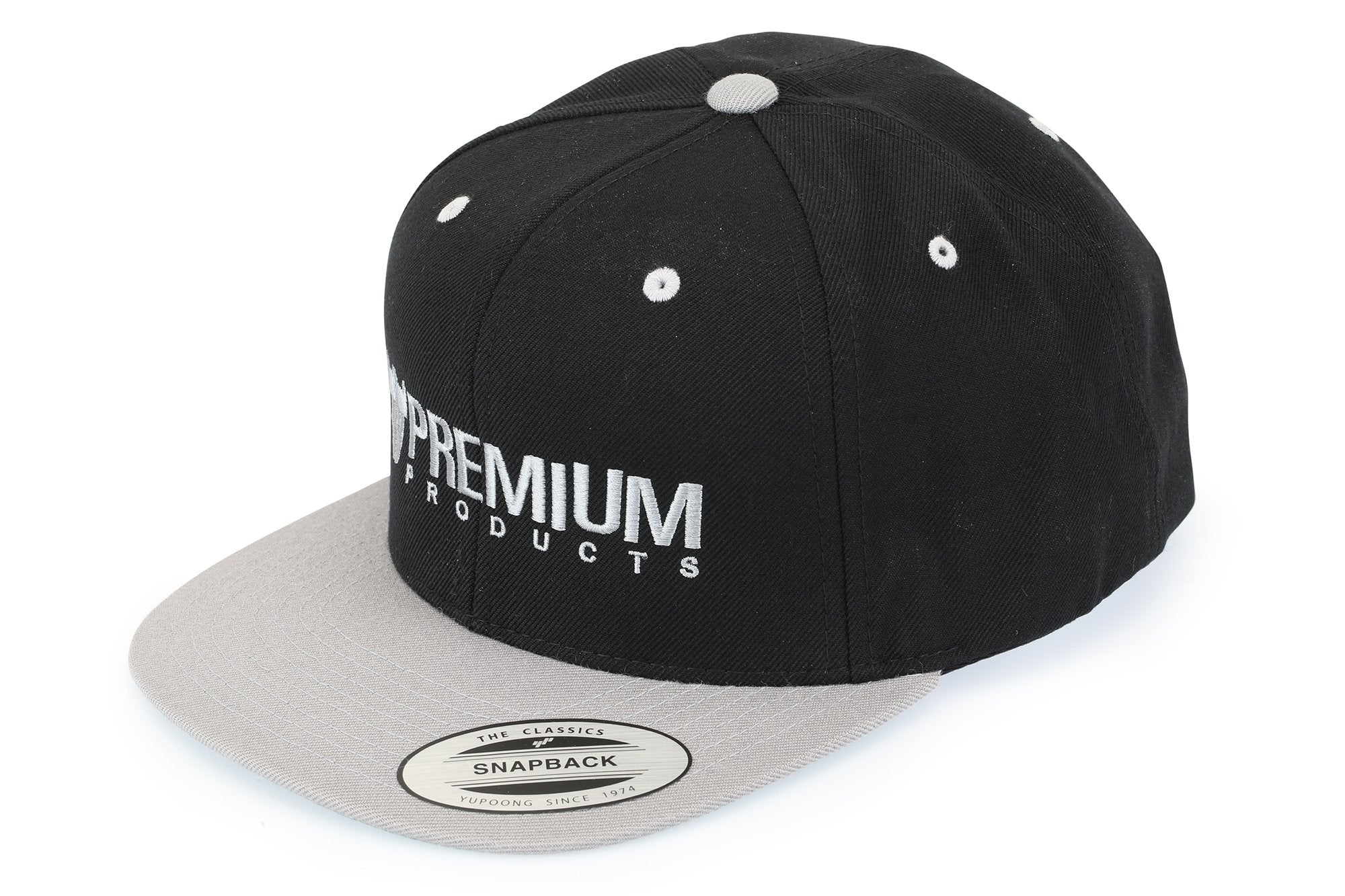 Premium Snap Back Logo Hat