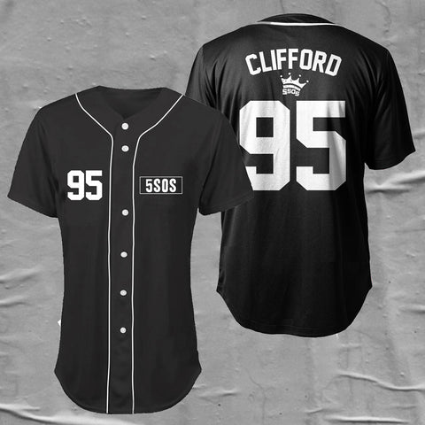 Baseball Jersey (CLIFFORD)