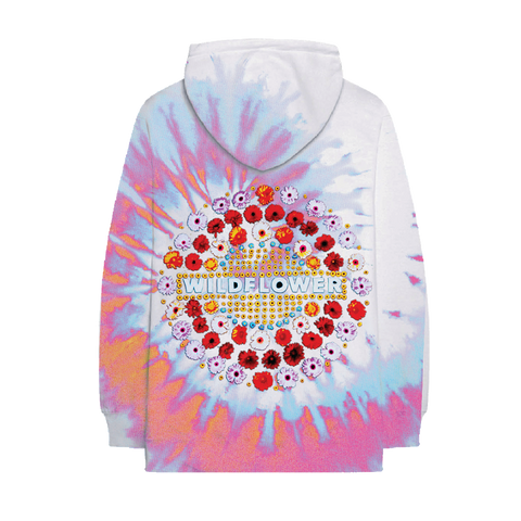 Wildflower Tie-Dye Hoodie + Digital Album