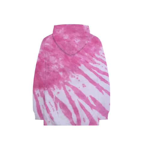 Pink Tie-Dye Hoodie + Digital PLUS1 Album