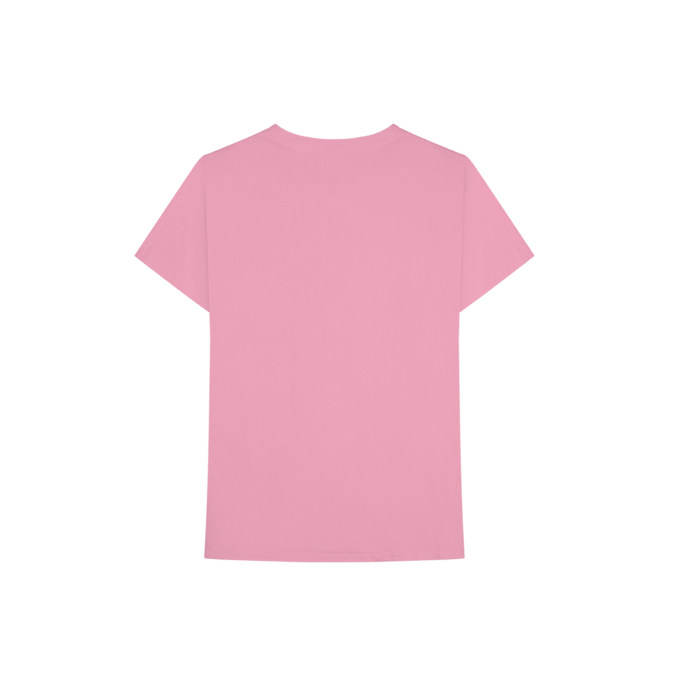 Pink C A L M Tee