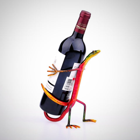 Island Lizard Bottle Holder - Seahorse Mansion