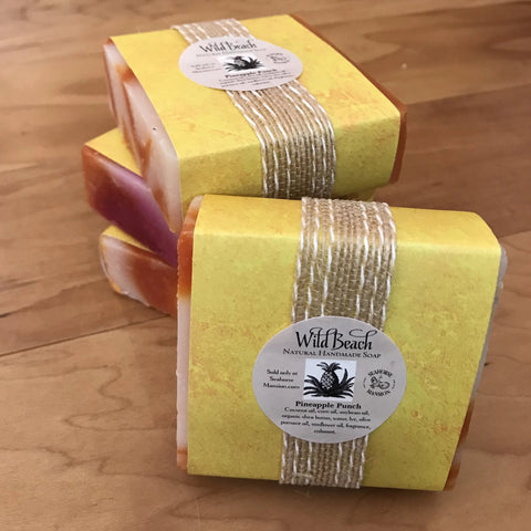 Wild Beach Handmade Soap - Pineapple Punch - Seahorse Mansion
