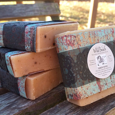 Wild Beach Handmade Soap - Siren Song - Seahorse Mansion