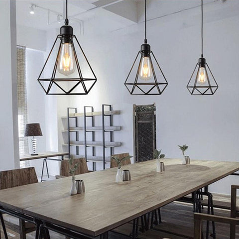 Cage Pendant Lamp - Seahorse Mansion