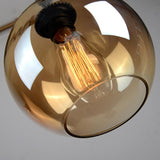 Pendant Light | Glass Globe on Rope - 3 sizes - Seahorse Mansion