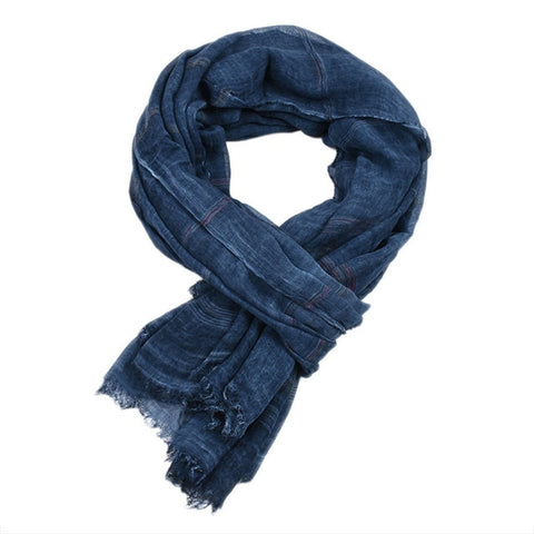 Cotton Voyager Scarf | Unisex - 5 colors - Seahorse Mansion