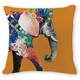 Throw Pillow Cover | Bohemian Elephant - 7 designs - Seahorse Mansion