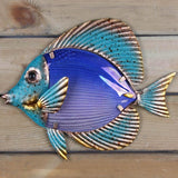 Wall Sculpture | Mixed Media Fish - 2 colors - Seahorse Mansion