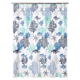 Shower Curtain | Blue Coral Reef - Seahorse Mansion