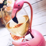 Wine Bottle Holder | Blushing Flamingo - Seahorse Mansion