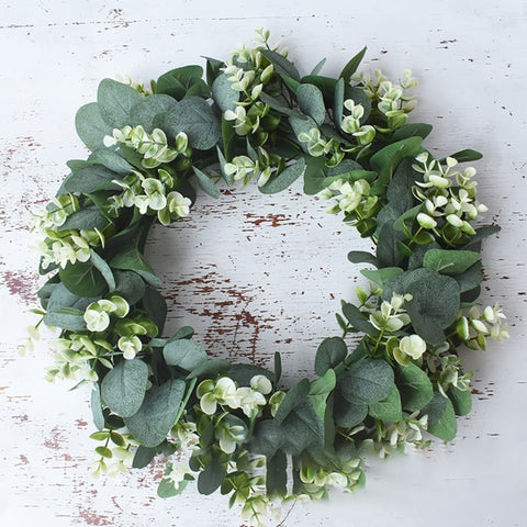 Wreath | Welcome Spring - Artificial Eucalyptus Mix