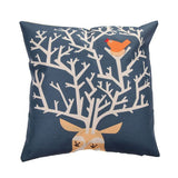 Throw Pillow Covers | Antlerz  - 3 designs - Seahorse Mansion - coastal decor gifts