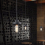 Pendant Light | Industrial Cage - Seahorse Mansion