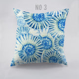 Throw Pillow Covers | Blue Ocean Life - 4 patterns, 2 sizes - Seahorse Mansion