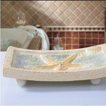 Starfish Resin Soap Dish - Seahorse Mansion