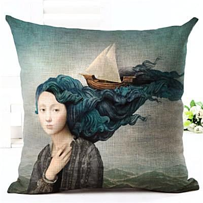 Throw Pillow Covers | Nature Fantasy - 10 designs - Seahorse Mansion