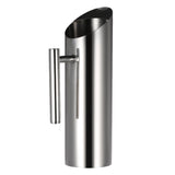 Stainless Steel Pitcher - Angled Cylindrical - Seahorse Mansion