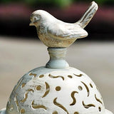 Candle Holder | Filigree Bird Ironwork  - 2 colors, 2 sizes - Seahorse Mansion