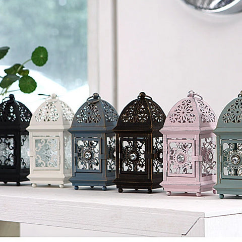 Zara Ornamental Lantern - 5 designs - Seahorse Mansion