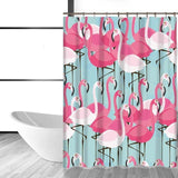Shower Curtain | Flamingo Chic - 5 patterns, 2 sizes - Seahorse Mansion