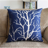 Throw Pillow Covers | Ocean Blues - 6 designs - Seahorse Mansion