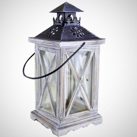 Seaside Lantern - Seahorse Mansion - coastal decor gifts