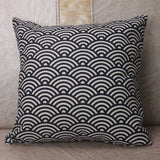 Throw Pillow Covers | Waves and Scales - 3 styles - Seahorse Mansion