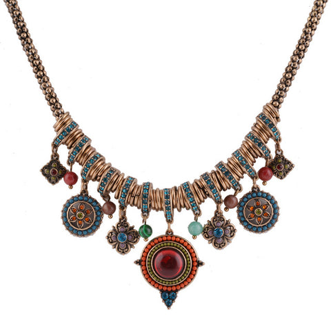 Statement Necklace | Bohemian Jewels - Seahorse Mansion