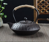 Cast iron Teapot | Bamboo Garden - 2 colors - Seahorse Mansion