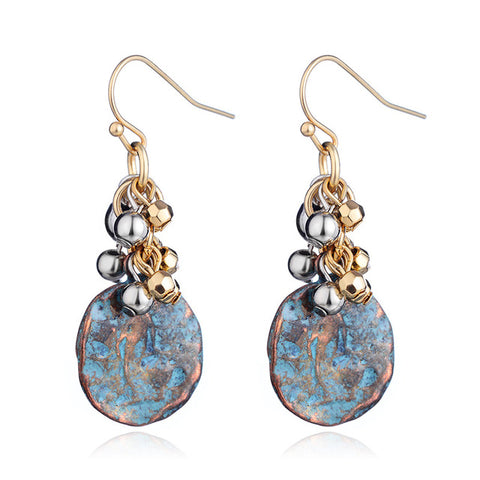 Tide Pool Earrings - Seahorse Mansion - coastal decor gifts