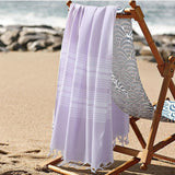 Beach Throw-Bath Towel | Peshtemal Turkish Towel - 3 colors - Seahorse Mansion