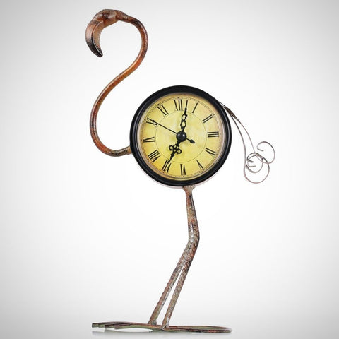 Table Clock | Iron Flamingo - Seahorse Mansion