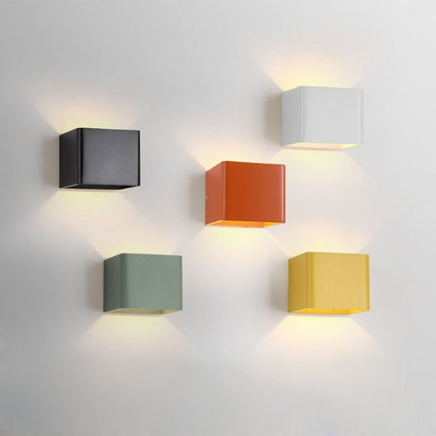 Wall Box Lights | LED - 5 colors - Seahorse Mansion - coastal decor gifts