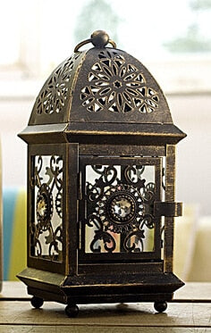 Zara Ornamental Lantern - 5 designs - Seahorse Mansion - coastal decor gifts