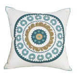 Throw Pillow Covers | Bountiful Embroidery  - 20 Designs - Seahorse Mansion
