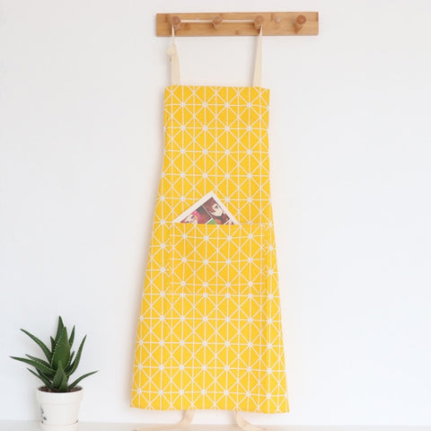 Linen Apron | Coastal Print , Adult or Child - 4 patterns - Seahorse Mansion