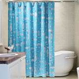 Shower Curtain | Swimmingly - 10 sizes - Seahorse Mansion