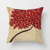 Throw Pillow Covers |  Flowering Tree - 18 designs - Seahorse Mansion