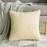 Throw Pillow Covers | Velvet Corduroy - 5 sizes, 18 colors - Seahorse Mansion