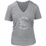 Logo Tee | Women's V-Neck - Seahorse Mansion, 3 colors - Seahorse Mansion
