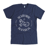 Logo Tee | Men's Slim Fit - Seahorse Mansion, 2 colors - Seahorse Mansion