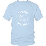 House Favorite Logo Tee - Unisex - Seahorse Mansion - coastal decor gifts