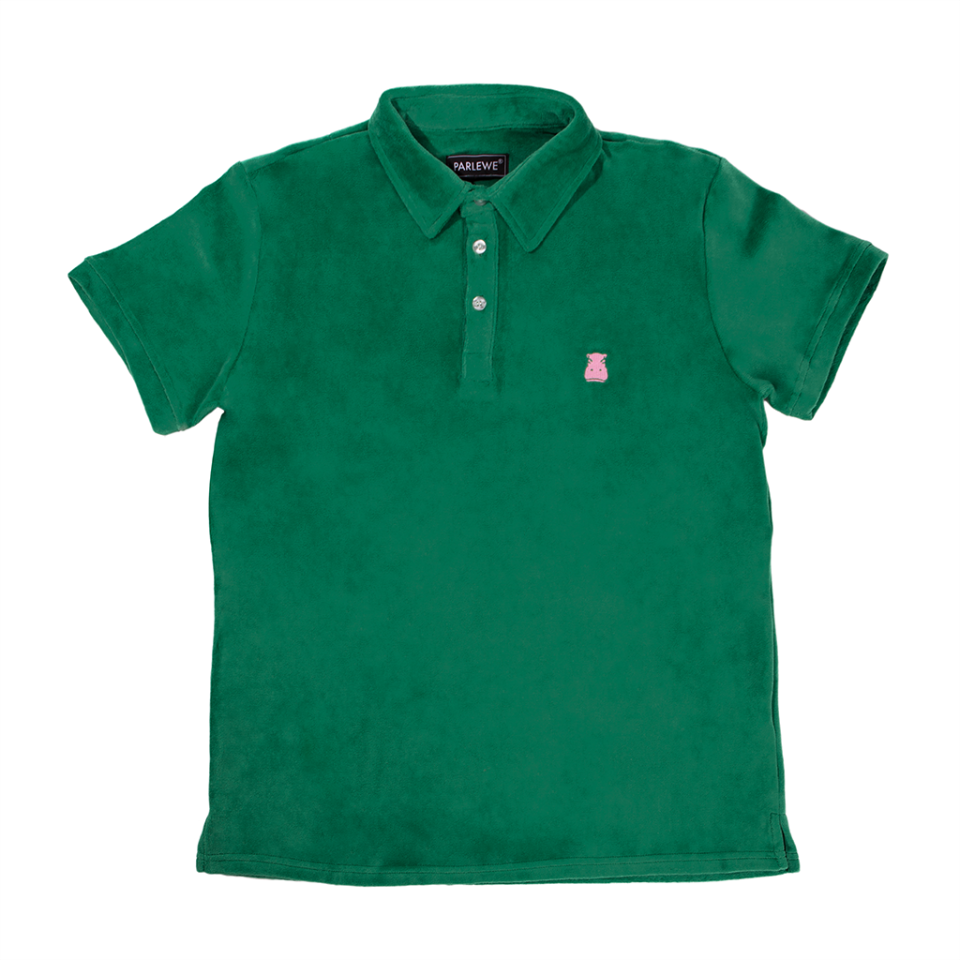 The Green Parlewe Terry Polo Softest Polo Known To Mankind
