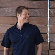 The Navy Cotton Polo