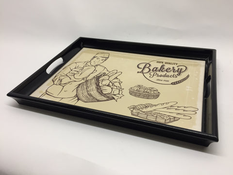 Baker Melamine Based Serving Tray
