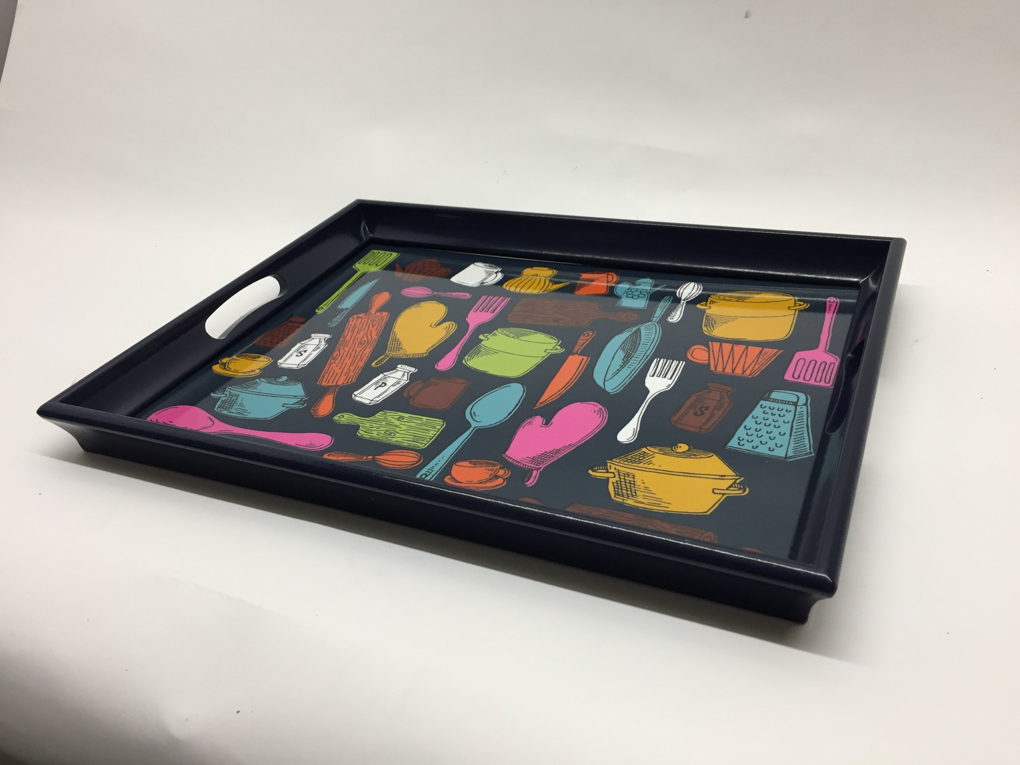 Kitchen Tools Melamine Based Serving Tray