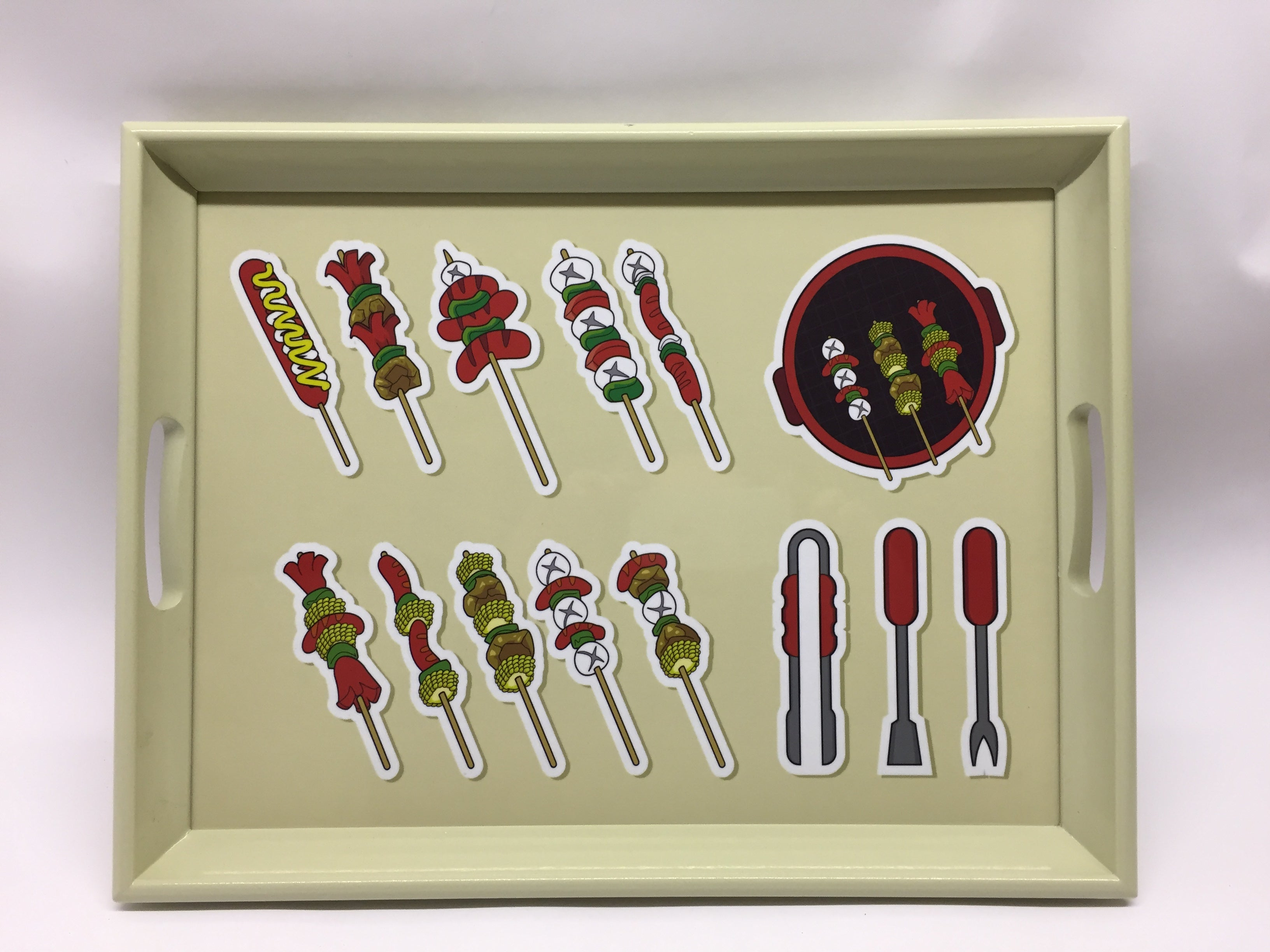 BBQ Tools  Melamine Based Serving Tray