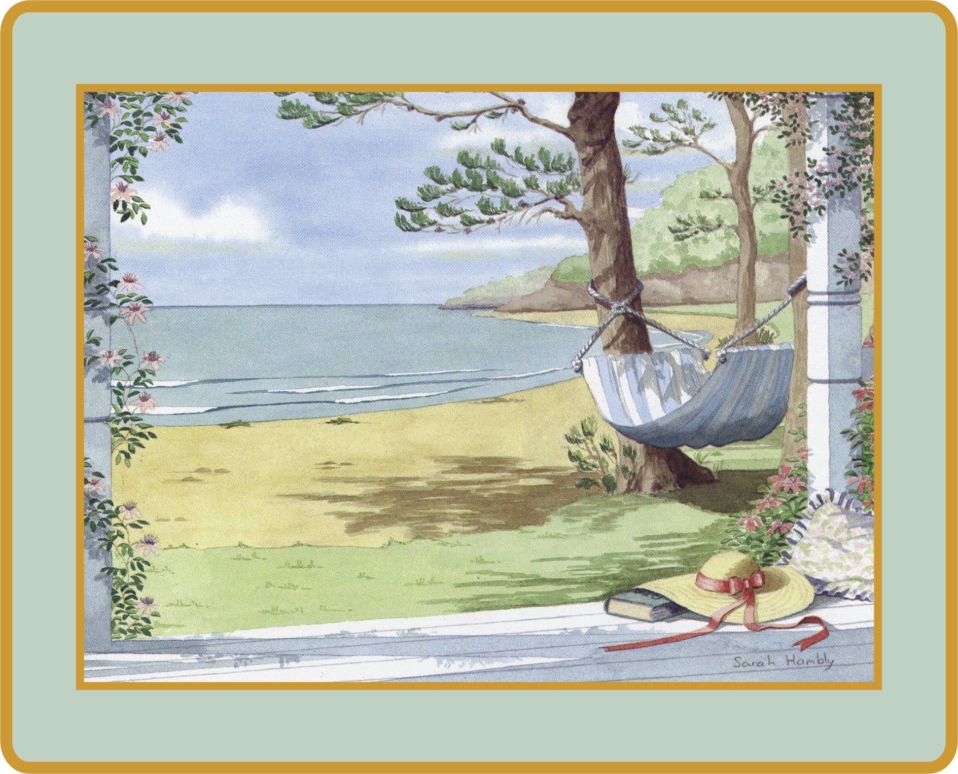 Set of 4 Ebbels Sarah Hambly Placemats