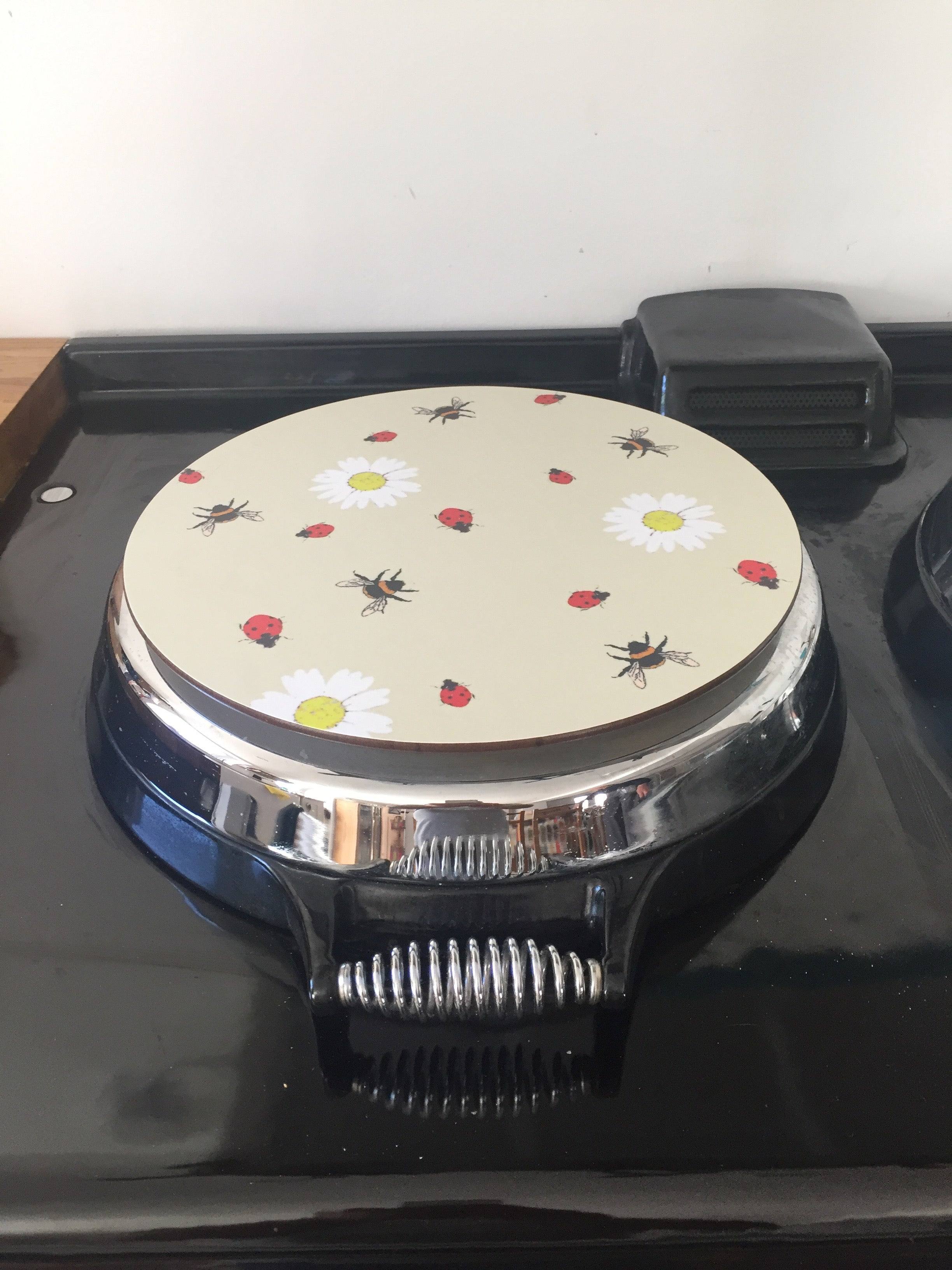 Solid Melamine Chef Pad (lady bird & bee)